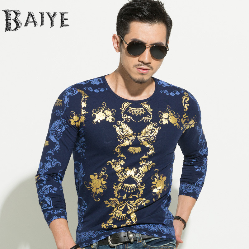 Buy 2016 european and american style tops for European mens dress shirts