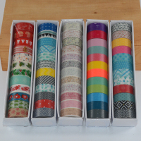 12 Pcs Set Washi Tape Cinta Adhesiva Decorativa Floral Decorative Lot Kawaii Flower Masking Tapes Christmas