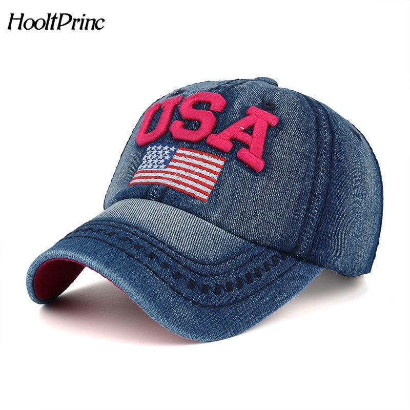 Outdoor Sports Gorras Hip Hop hat The Flag Of The United States Letter USA Cap Cotton Hat Snapback Men Women Baseball Cap the flag of the united states letter usa cap adjustable cotton hat snapback outdoor sports gorras hip hop men women baseball cap