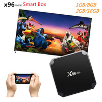 X96mini Android 7 1 Smart TV Box Digital Player TV Box S905W 64Bit Support 2 4GHz