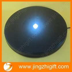 25 см ротационный Кристалл дисплей база стенд светодиоды яркость