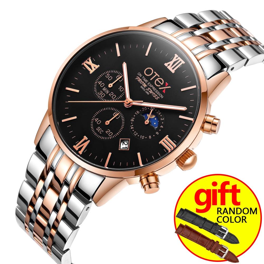 3 Men s font b Watches b font Top Brand Luxury OTEX font b Military b