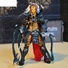 "Filme anime figura NECA Predator Alien Hunter Líder Do Clã 7 ""Action Figure Collectible Toy Modelo de Luxo Final(China)"