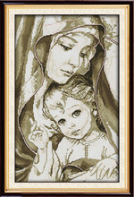 Virgin Mary (2) cross stitch kit 18ct 14ct 11ct count printed canvas stitching embroidery DIY handmade needlework(China)