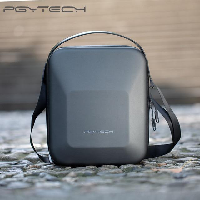 PGYTECH DJI Mavic 2 Pro Zoom PU EVA Omuz Su Geçirmez Çanta Çanta Mavic 2 Drone Taşıma saklama kutusu