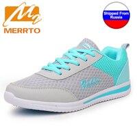 MERRTO 2017 Mulheres Running Shoes Altura Crescente Sapatos Leves Esportes Saúde Perder Peso Plataforma as Sapatilhas Das Mulheres Respiráveis