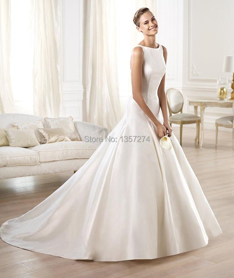 Y Sheer Boat Neck Lace Bride Gowns With Sleeve Short Wedding Dresses Liques Organza Vestido De Noiva Free Shipping Sw2633