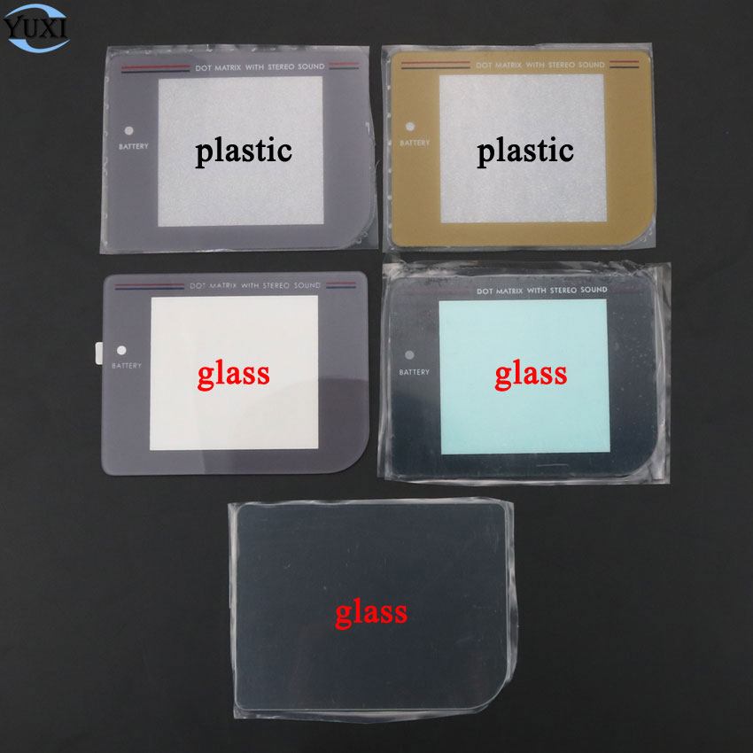 YuXi Replacement Screen Lens Cover For Gameboy DMG Display Plastic Glass For GB Lens Protector