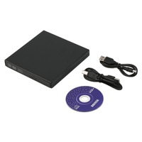 Super Slim USB 2.0 Externe CD +-RW DVD +-RW DVD-RAM Graveur Lecteur Pour Ordinateur Portable PC noir Blanc Promotion Chaude Drop Shipping