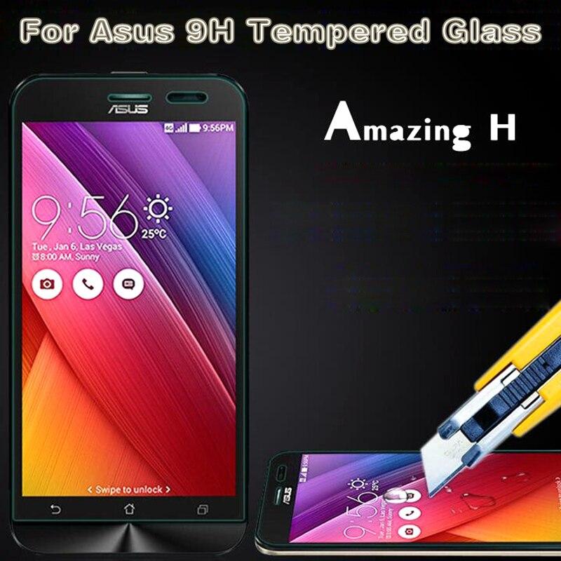 9H Tempered Glass For ASUS Zenfone 2 3 Max ZC550KL ZC520TL 2 3 Laser ZE500KL ZB500KL ZE520KL 4 5 6 Go Selfie Protector Film Case