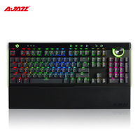 Ajazz AK45 111 Keys USB3.0 Wired RGB backlight Mechanical Keyboard Box Ergonomic Gaming Keyboards for lol dota 2 cs go Computer