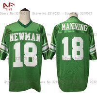 AIFEIYIYI Cheap Throwback American Football Jersey Eli Manning 18 Isidore Newman High School Jerseys Stitched Retro