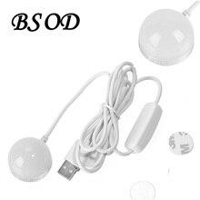 ФОТО BSOD USB Mini Bulb Lamp DC5V White or Warm White Use for Anywhere