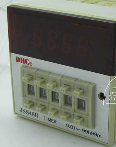 Wenzhou Dahua time relay JSS48B-2Z positive or countdown delay relay 8 pin with base wenzhou dahua time relay dhc6a a3 power failure to maintain the call to continue with lcd backlight with backlight