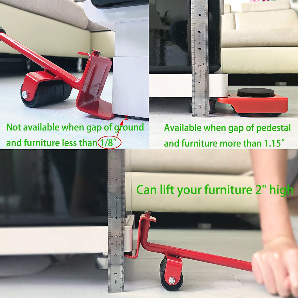 furniture mover lifter wheels system home trolley lift. Black Bedroom Furniture Sets. Home Design Ideas