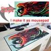 Photo Pictures DIY Custom Mousepad L XL Super Grande Large Mouse Pad Game Gamer Gaming Keyboard