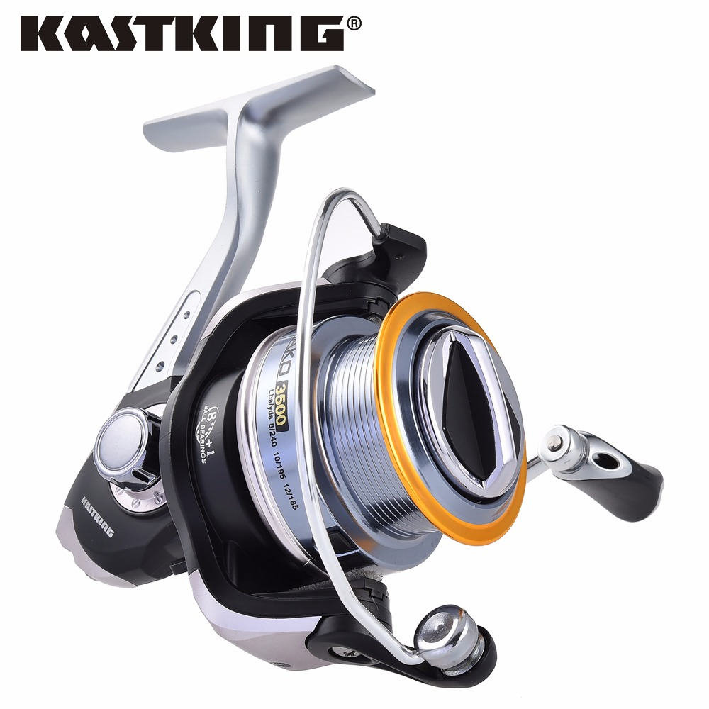 KastKing 2017 New Super Strong 10KG/22.00LB Drag Spinning Reel 0.91M Fast Line Retrieve Fishing Reel for Saltwater Fishing