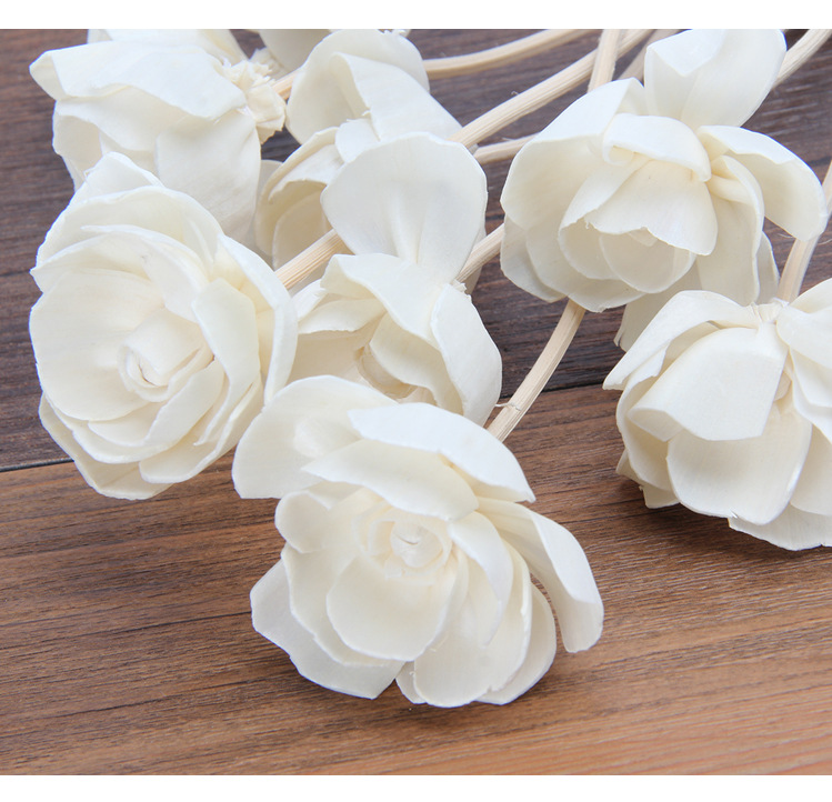 dried flower aromatherapy sola flower Aromatherapy cane natural plant Plants dried flowers pure natural materials in Artificial Plants from Home Garden
