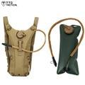TTGTACTICAL 2.5L Bexiga de Água Mochila de Camuflagem Do Exército Combate Mochila Utilitário Assalto Água Mochila TAN/Preto