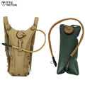 TTGTACTICAL 2.5L Water Bladder Backpack Army Camouflage Combat Backpack Utility Assault Water Backpack TAN/Black