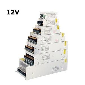 Image 3 - Fonte de alimentação 12 v led driver adaptador ac dc 24 v 5 volts 36 volts transformador eletrônico
