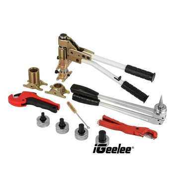 iGeelee Pex Clamping Tools PEX-1632A Range 16-32mm used for REHAU System well received Rehau Plumbing Tool Kits