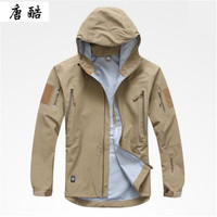 2018 men military clothing hardshell clothes camouflage army autumn jacket and coat for men multicam windbreaker
