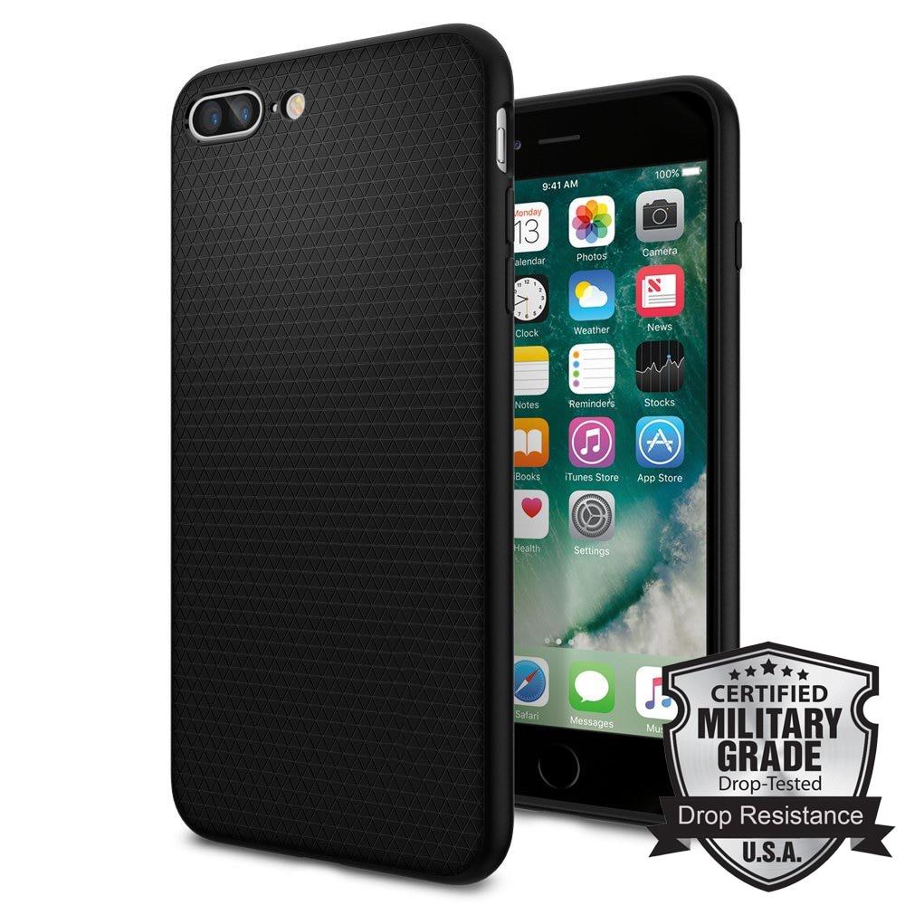 bilder für Ursprüngliche Flüssigkeit Rüstung Fall für iPhone 7 Plus Premium Matte TPU Moderne Muster Haltbare Flex Fall mit Kleinpaket