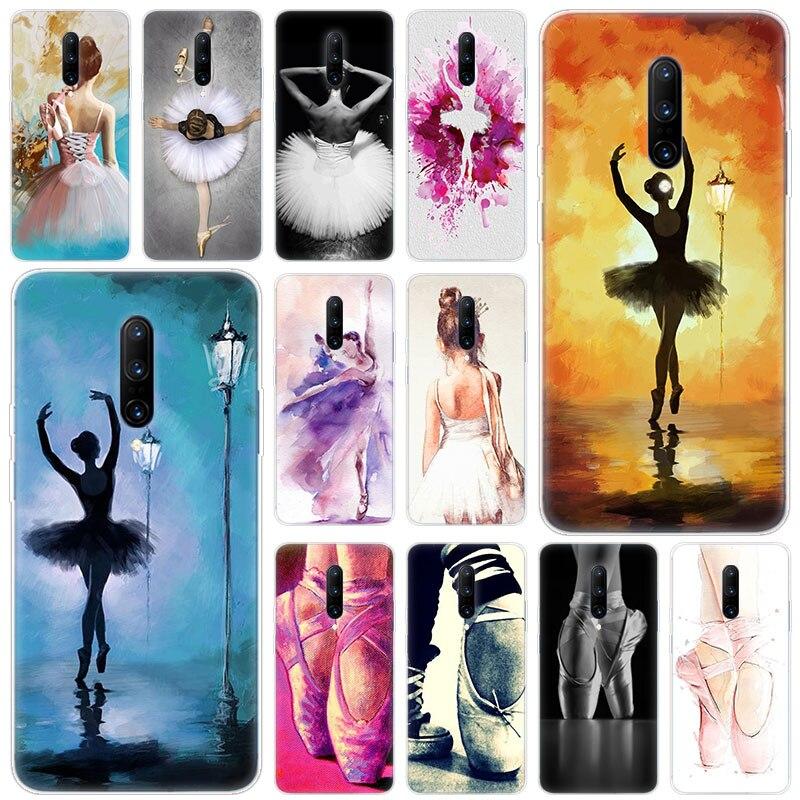 Hot Ballerina Ballet Dancing Soft Silicone Fashion Transparent Case For font b OnePlus b font font