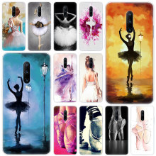Hot Ballerina Ballet Dancing Soft Silicone Fashion Transparent Case For OnePlus 7 Pro 5G 6 6T 5 5T 3 3T TPU Cover