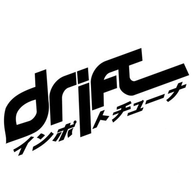16 3cm6 4cm car styling drift japan japanese competition car window stickers c5