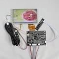VGA+AV Lcd Controller board KYV-N2 V6+6.2inch HSD062IDW1 CLAA062LA01CW 800x480 Lcd panel+touch panel