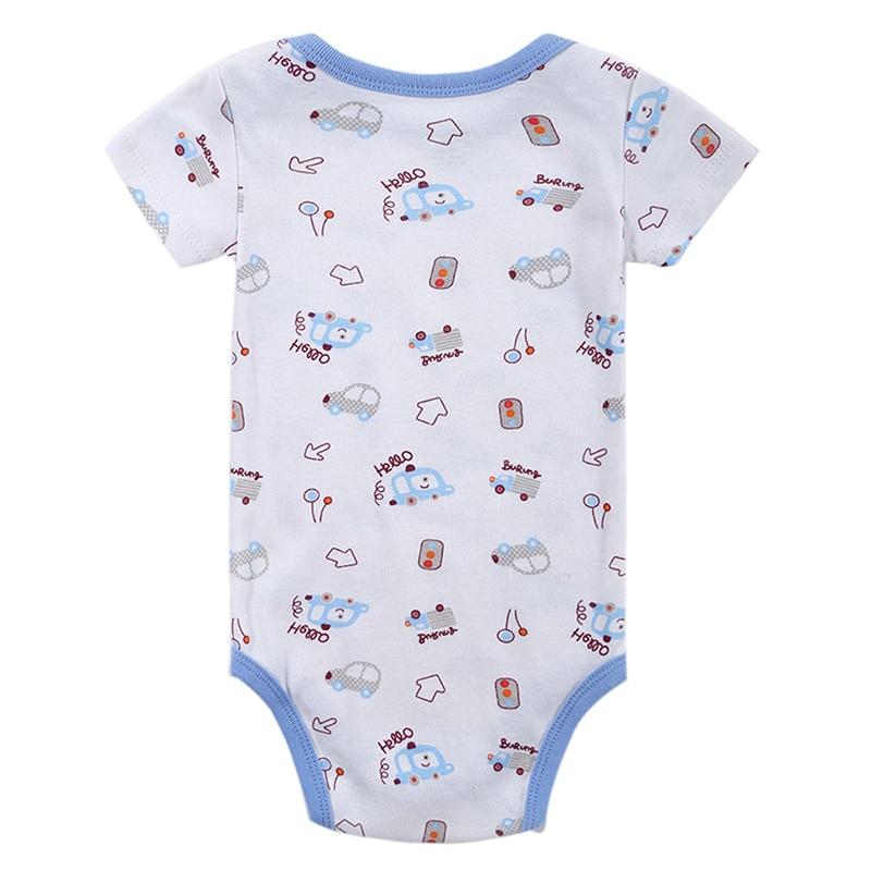 Kūdikių mergina berniukas Romper Naujagimis kūdikis Trumpas - Kūdikių drabužiai - Nuotrauka 3
