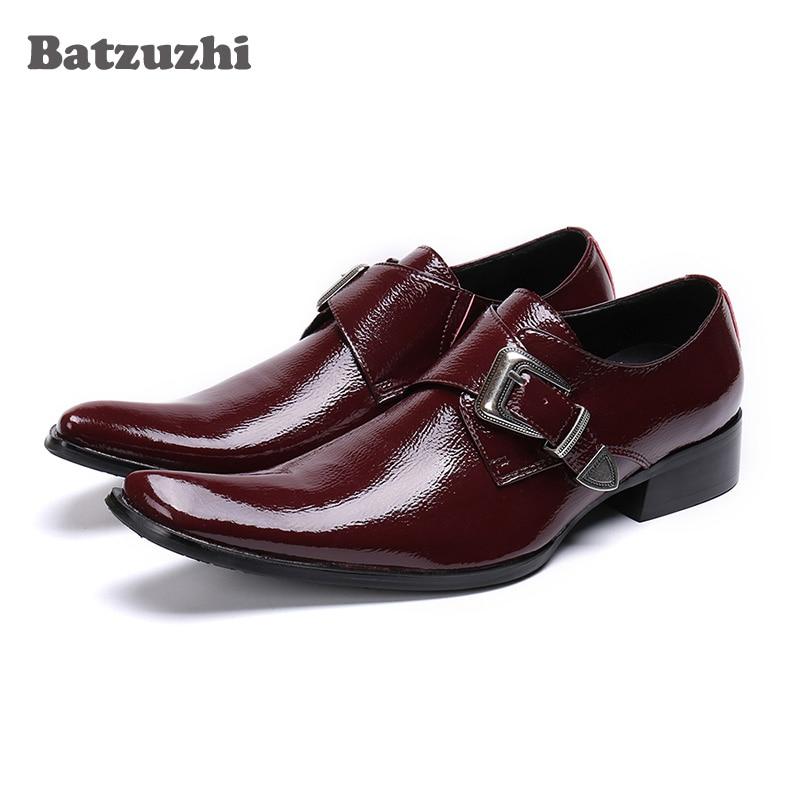 Batzuzhi Formal Leather Shoes Men