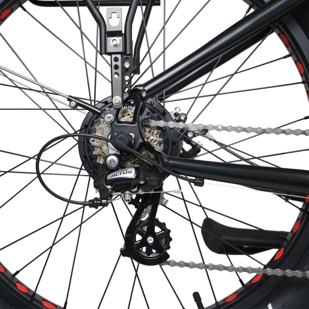 Baru Ebike 2WD Sepeda Lemak Listrik 48 V 11AH Baterai Lithium Sepeda - Bersepeda - Foto 6