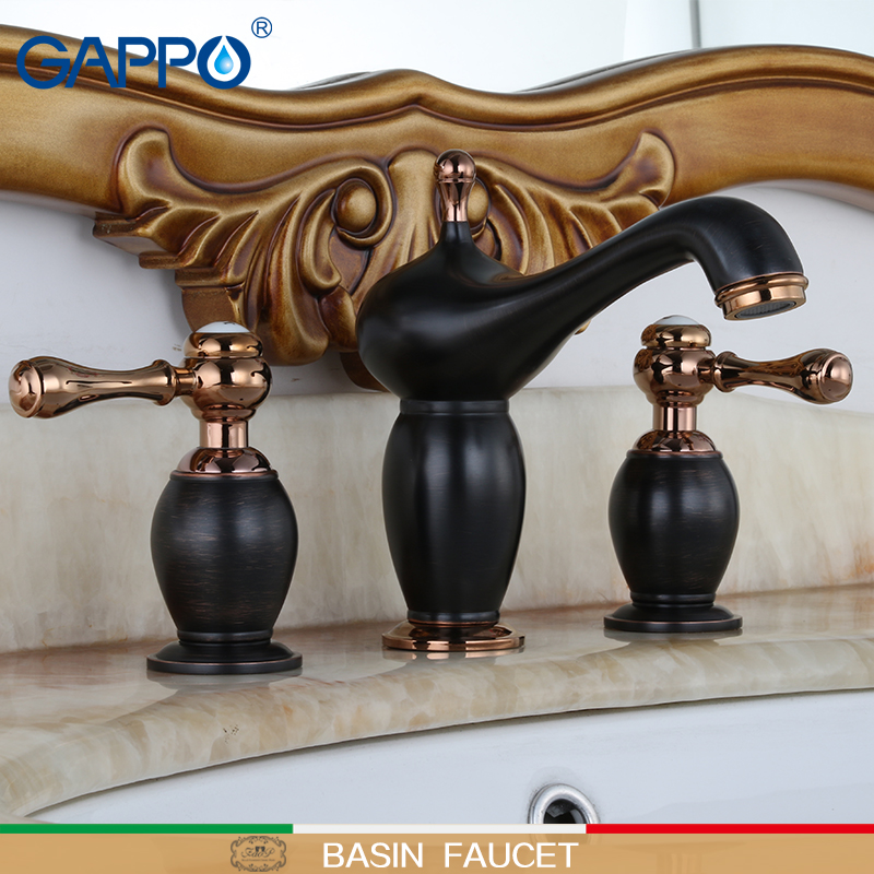 GAPPO basin Faucet black body water tap bathroom sink tap bathroom toneira taps for wash brass toneira faucet sink mixer        GAPPO basin Faucet black body water tap bathroom sink tap bathroom toneira taps for wash brass toneira faucet sink mixer