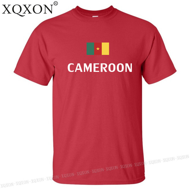Cameroun conception t-shirt mixte été 2018 2
