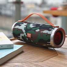 Big Wireless Portable Bluetooth Speaker Column FM Radio USB AUX Music Player Boom Box Outdoor Speaker 10W caixa de som Sound(China)