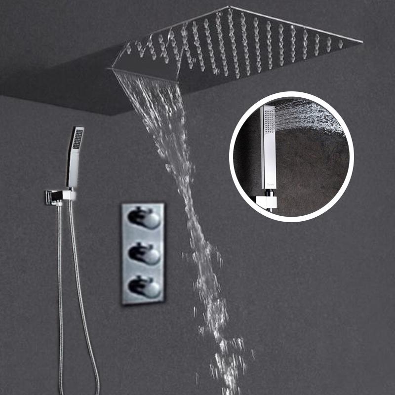 cabezal de la ducha termosttica jmkws moderno techo de la pared de accesorios de bao set with diseos de duchas de bao