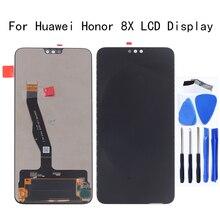 עבור Huawei honor 8X LCD תצוגת מסך מגע digitizer הרכבה לכבוד 8X JSN L21 JSN AL00 JSN L22 מסך lcd תצוגת ערכת