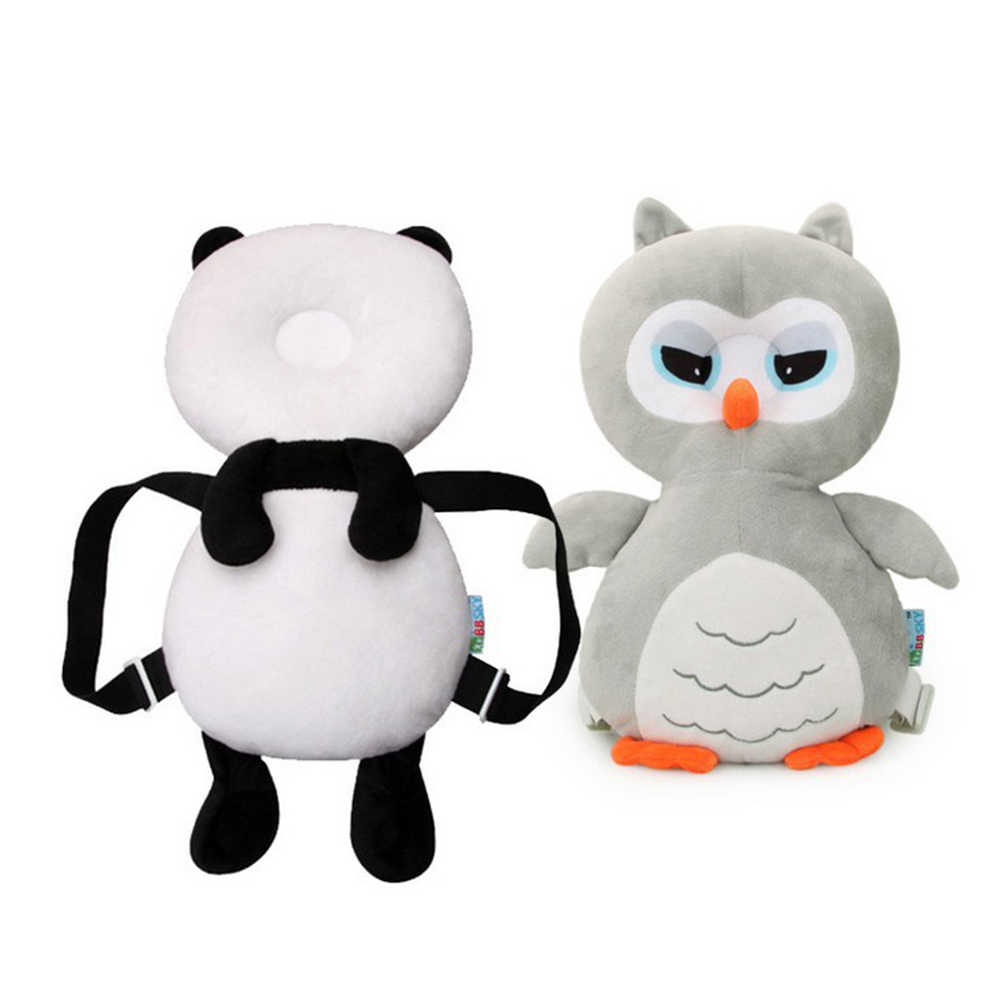 Baby Head Protection Pad Owl Panda shape Toddler Headrest Pillow Baby Neck Cute Wings Nursing Drop Resistance Cushion