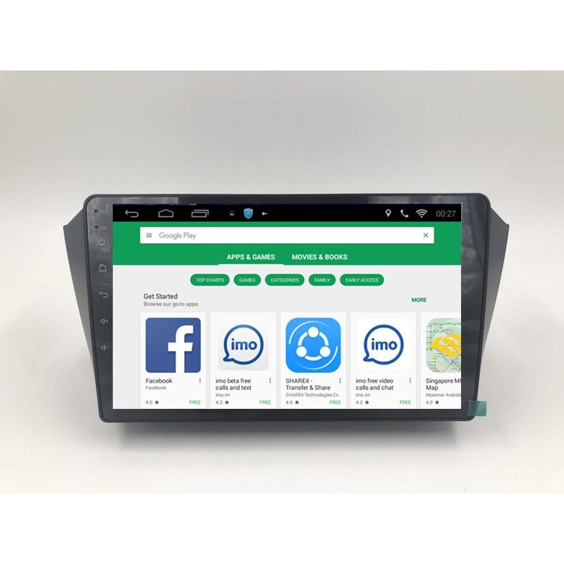 ChoGath 9 ''Quad Core RAM 1GB pur Android 9.0 voiture Audio GPS lecteur de Navigation pour GEELY Emgrand X7 Emgrand GX7 Radio Bluetooth