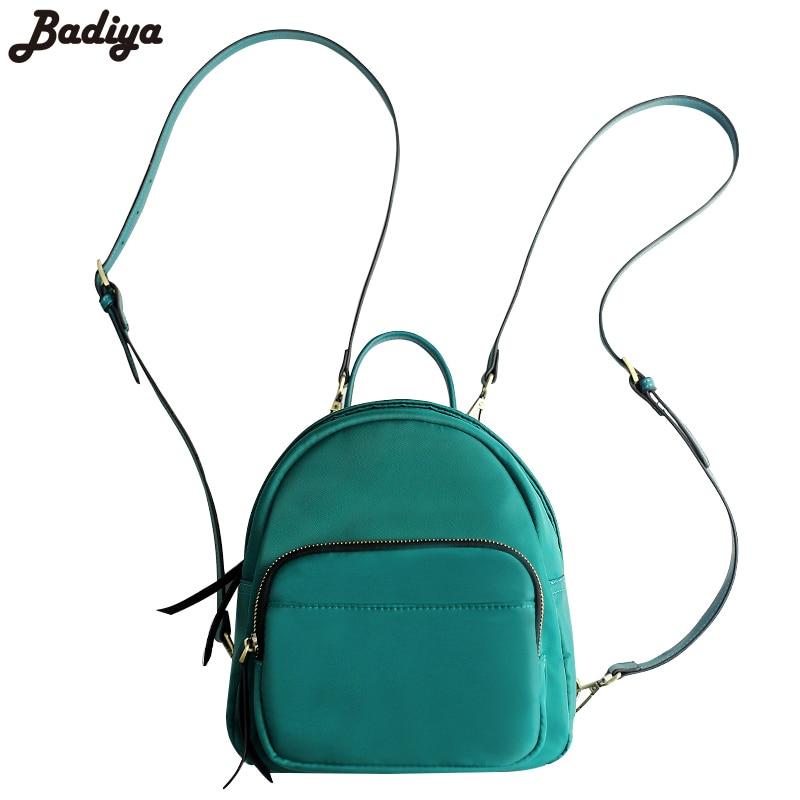 New Mini Travel Sac Women School Backpacks For Teenage Girls Shoulder Straps Mochila Phone Purse Bolsas Feminina Oxford Knapsack