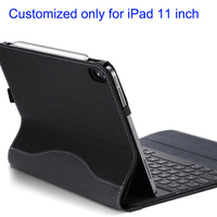High Quality PU Leather Case for iPad Pro 11 2018 Cover Wake/Sleep Tablet Protective Sleeve Pen Holder Can Put Original Keyboard