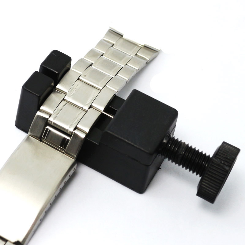 Adjuster Repair Tool with Watch Repair Tool Watch Link for Band Slit Strap Bracelet Chain Pin Remover Stainless Steel Watch Part (2)