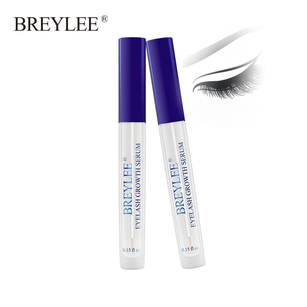 ef5e5b6d1af BREYLEE Eyelash Growth Serum Eyelash Enhancer Eye Lash Treatment Liquid  Longer Fuller Thicker Eyelash Extension New Makeup 2PCS