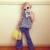 2016 Primavera Bebés Novos Moda Qua Leg Denim Calças Queimado Calças Cool Kids Bebê Clothings Crianças Meninas calças de Brim do vintage calças