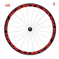 Multicolor Bike Wheel Rims Reflective Stickers Decals Cycling Safe Protector 26/27.5inch Car Wheel MTB Bike Accessories 1 Side