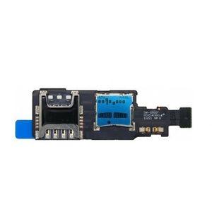 Para Samsung Galaxy S5 Mini SM-G800F G800H Bandeja Cartão Sim Titular Flex Ribbon Cable Genuine Nova