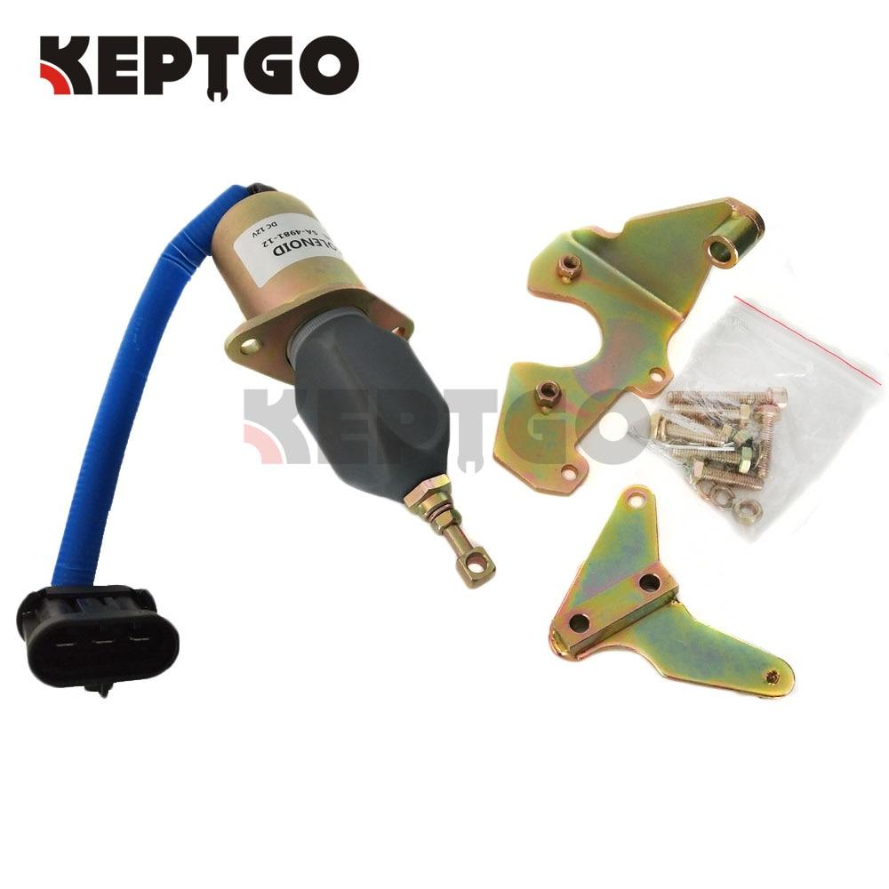 BOSCH 24V Fuel Pump Cut Off Stop Solenoid for Cummins 5.9 6BT 6BTA DAF Iveco